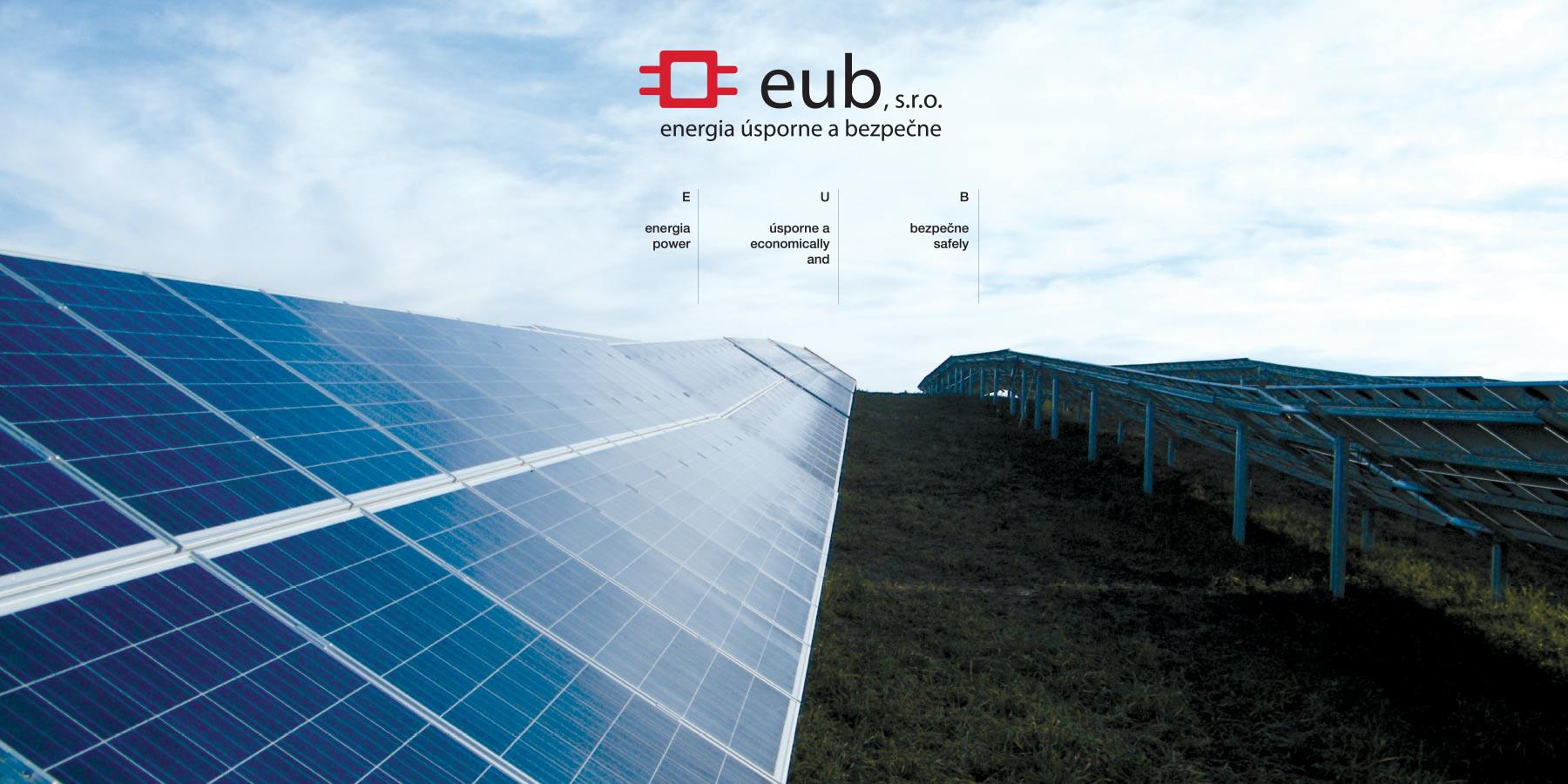 Stránka spoločnosti EUB, s.r.o.